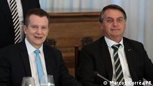Brasilien Celso Russomanno und Jair Bolsonaro
