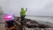 Kolumbien Hurricane Iota Sturm Wetter Klimawandel