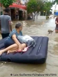 Evacuación en Colombia por el huracán Iota. (14.11.2020).