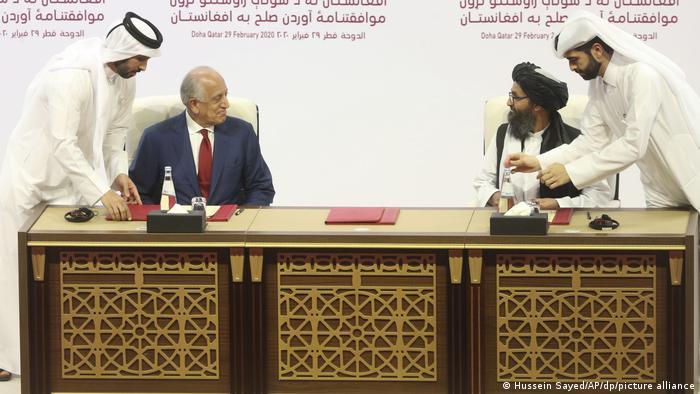 گفتوگوهای صلح افغانستان در دوحه قطر