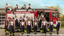 BdT «Calender girls» werben für mehr Frauen in den Feuerwehren