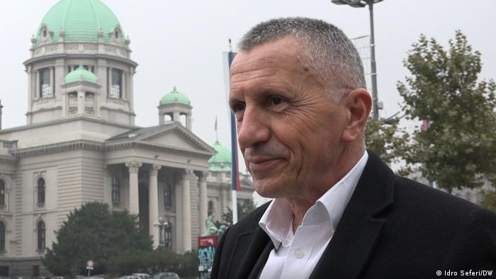 Südserbien Politiker Shaip Kamberi, Abgeordnete der Opposition
