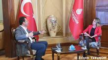 Türkei | DW-Interview mit Ekrem İmamoğlu, dem Oberbürgermeister von İstanbul