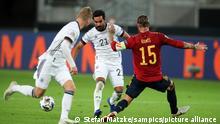 Fussball Länderspiel Deutschland - Spanien