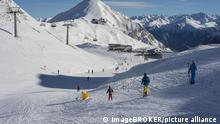 Skiers in Austria