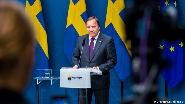 Schweden Stockholm   Premierminister   Stefan Löfven