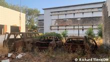 November 2020++Parlament in Burkina Faso, nachdem es am 30. Oktober 2014 aus Protest gegen eine vorgeschlagene Änderung eines Verfassungsartikels zur Begrenzung der Amtszeit des Präsidenten gebrannt wurde.