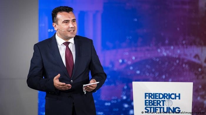 Deutschland  Friedrich-Ebert-Stiftung   Verleihung Menschenrechtspreis   Zoran Zaev