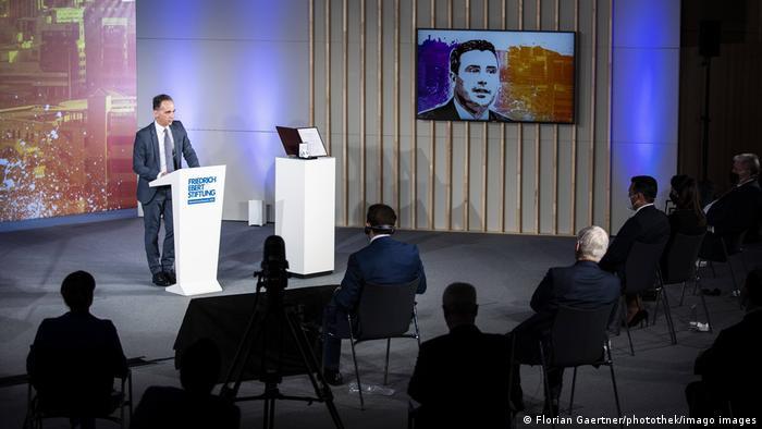 Deutschland |Friedrich-Ebert-Stiftung | Verleihung Menschenrechtspreis | Zoran Zaev