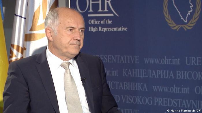 DW Interview Valentin Inzko