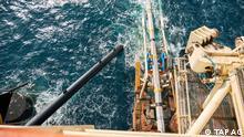 Bau der Transadriatischen Pipeline TAP