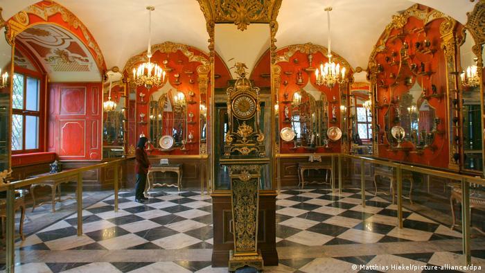 Deutschland | Dresden Schloss Grünes Gewölbe Schätze und Kunstwerke