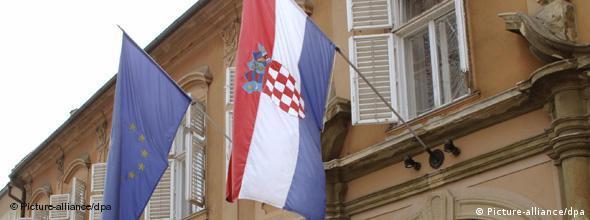 No Flash Symbolbild Kroatien EU