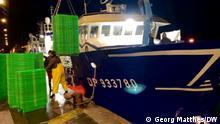 Frankreich Fischerei in Boulogne-sur-Mer