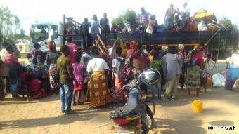 Mosambik Binnenvertriebene aus Cabo Delgado