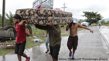 Honduras San Manuel Cortes | Hurrikan Iota | Verwüstung
