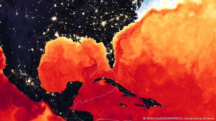 Karibik | Hurrikan Iota 2020 | NASA