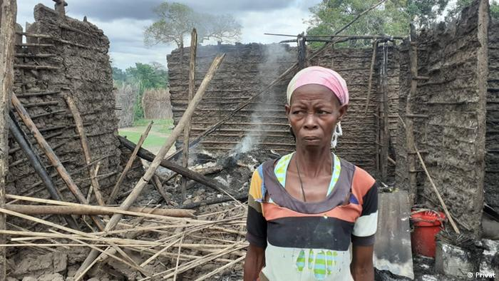 Mosambik Binnenvertriebene aus Cabo Delgado.