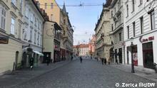 Slowenien Ljubljana in der Coronazeit