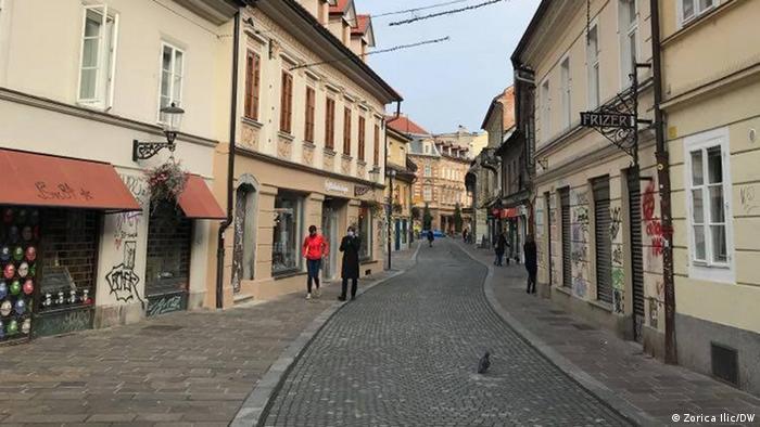 Ljubljana je tužno prazna