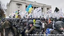 Ukraine Protest Polizei Demonstration