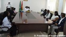 Guinea-Bissau Präsident trifft Verwandte von Nino Vieira