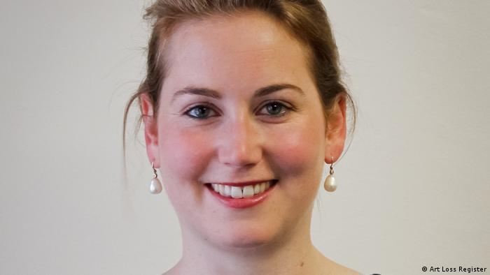 Amelie Ebbinghaus, Direktorin des Art-Loss-Register (Art Loss Register).