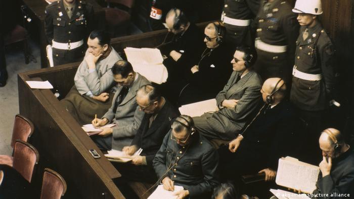 Para terdakwa dalam Proses Nürnberg