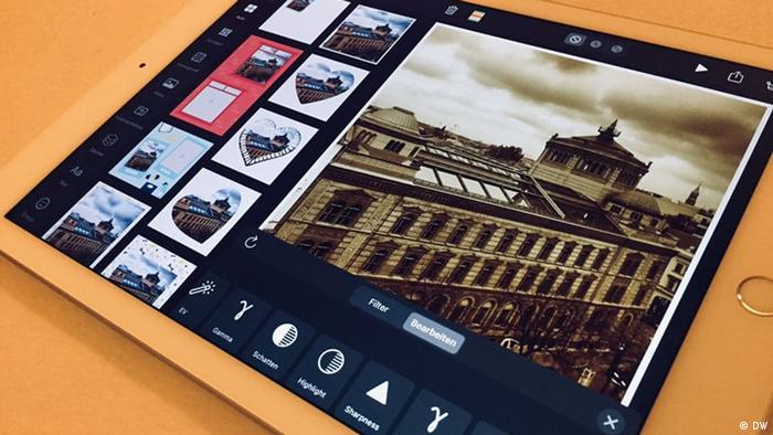 Mixgram   Fotobearbeitungs-App   Im Test