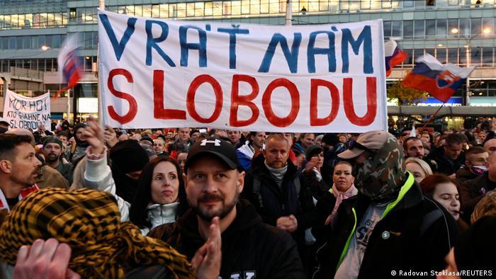 Поверність нам свободу, - вимагали демонстранти