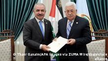 Mohammed Schtaje neuer palästinensischer Premierminister