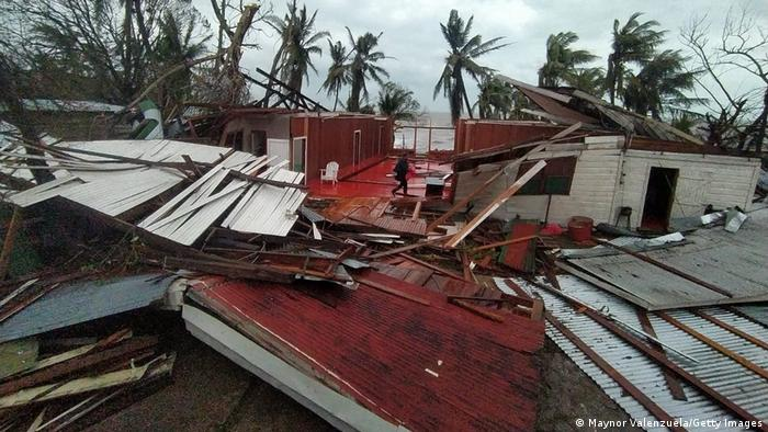 Devastación provocada por el huracán Iota en Nicaragua. (17.11.2020).