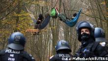 Protest gegen A 49 im Dannenröder Forst