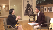 Taiwan Taipei | Joanna Lei im Interview mit DW