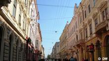 Bilder aus der ukrainischen Stadt Tschernowits oder Tscherniwtsi. Alle Bilder wurden von unserem Korrespondenten Andrij Wowk gemacht.