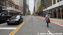 Празни улици в Ню Йорк