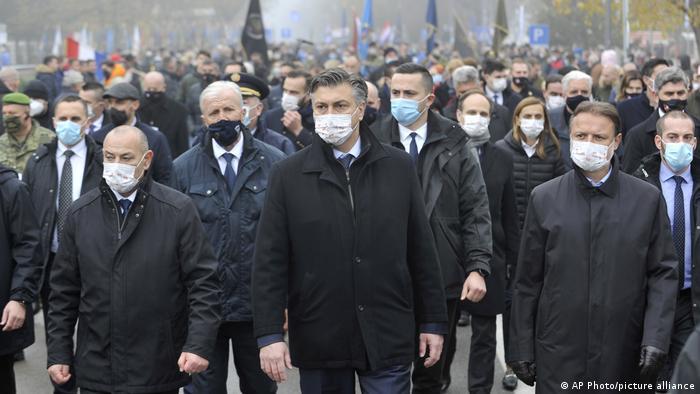 Rukovodstvo Hrvatske 18. novembra u Vukovaru