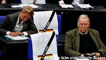 Deutschland Bundestag Änderung des Infektionsschutzgesetzes AfD