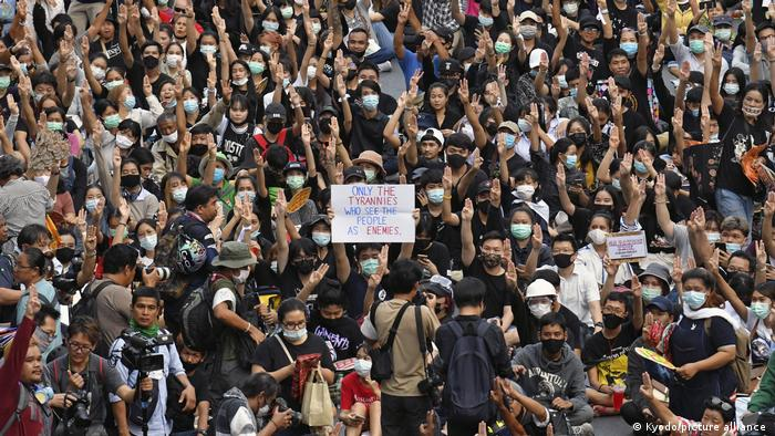 Protesters gather in Thailand's capital Bangkok to demand pro-democracy reforms