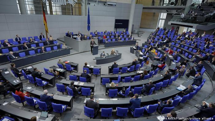 Berlin Bundestag coronavirus