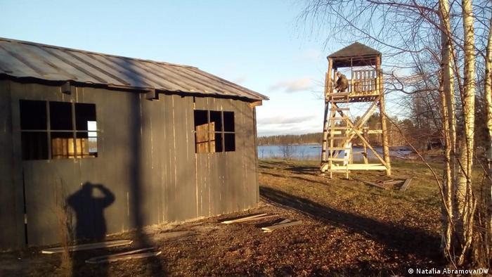 Russland   KZ-Nachbau in Karelien