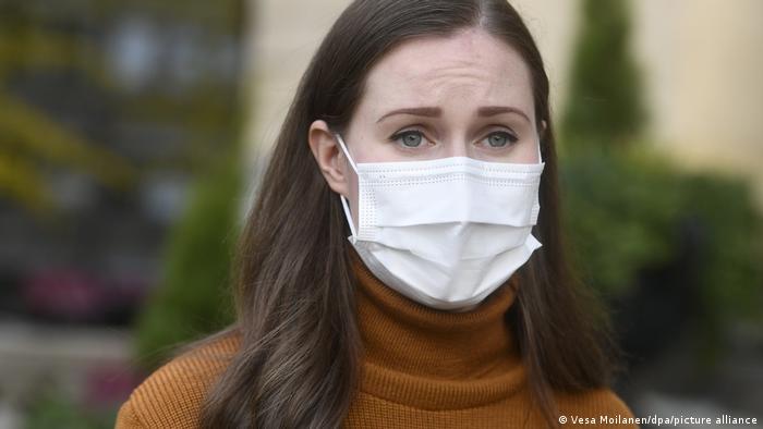 Finnland Corona-Pandemie | Premierministerin Sanna Marin