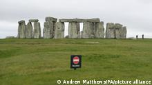 Stonehenge road. File photo dated 17/03/20 of Stonehenge. Highways England has said plans to build new road tunnels under the River Thames and near Stonehenge will benefit from a £27.4 billion Government funding package. Issue date: Friday August 21, 2020. The Government announced the £27.4 billion funding package in March as part of its Road Investment Strategy 2, which covers a five-year period to 2025. Other projects to benefit include the dualling of the A66 between the M6 at Penrith, in Cumbria and the A1 at Scotch Corner, Highways England said. See PA story TRANSPORT Roads. Photo credit should read: Andrew Matthews/PA Wire URN:55093244  