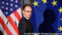 Deutschland | Heiko Maas: Nachrichtenkonferenz mit Mike Pompeo in Leipzig 2019