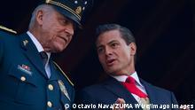 Mexiko US-Justiz will Klage gegen ehemaligen Verteidigungsminster fallen lassen | Salvador Cienfuegos und Pena Nieto