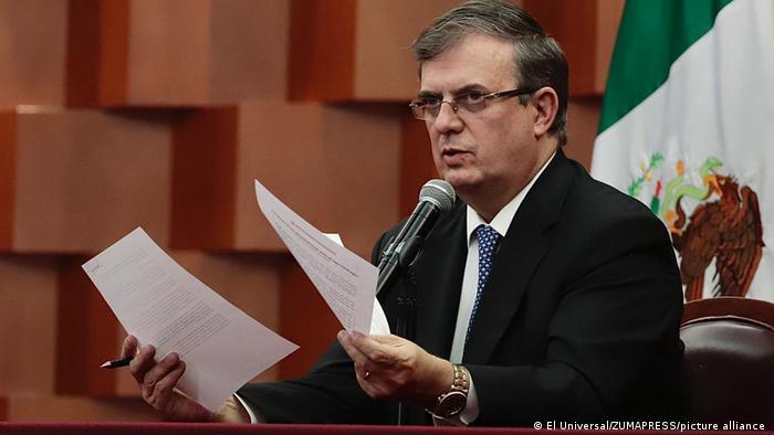Mexiko US-Justiz will Klage gegen ehemaligen Verteidigungsminster fallen lassen | Marcelo Ebrard