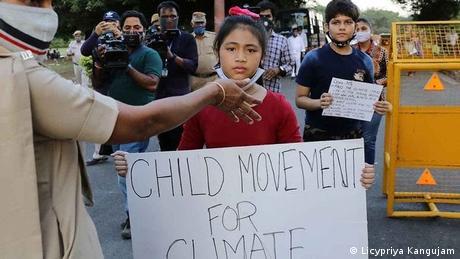 Nine-year-old climate activist Licypriya Kangujam