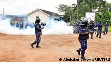 Uganda Festnahme Robert Kyagulanyi aka Bobi Wine