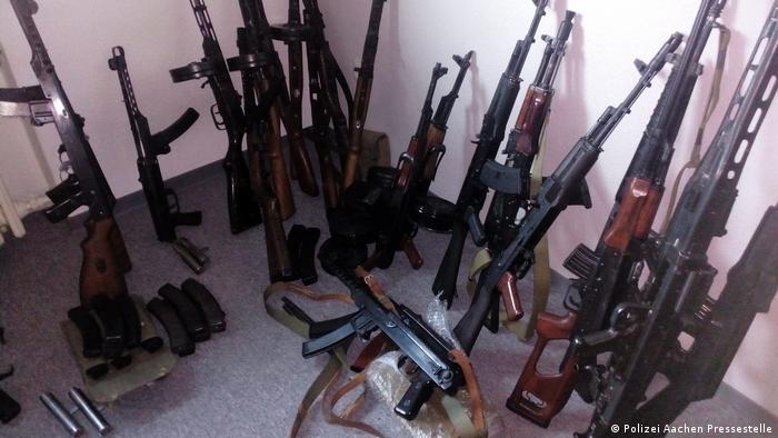 Weapons found in Euskirchen