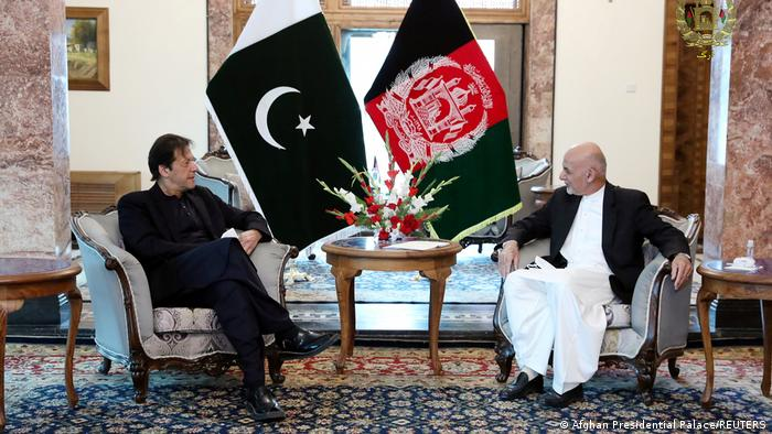 Afghanistan Kabul | Ashraf Ghani und Pakistan Premierminister Imran Khan